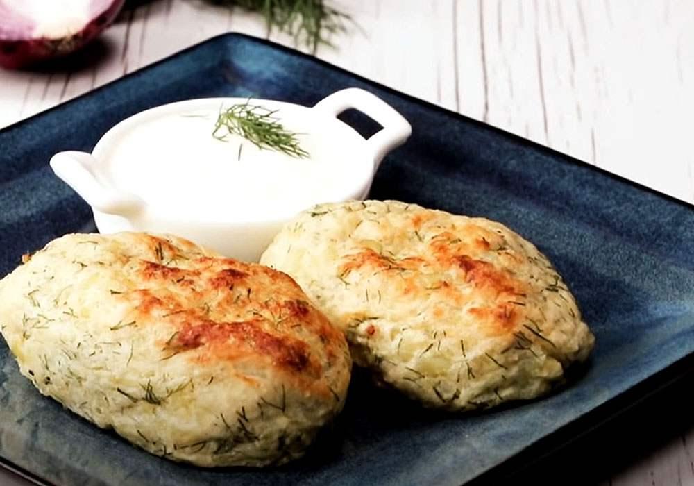 Зразы картофельные с мясом в духовке - пошаговый рецепт, фото 1